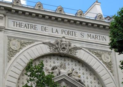 THEÂTRE DE LA PORTE SAINT MARTIN